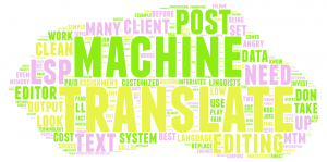machine translation post-editing